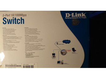 D-link Switch 5-port 10/100Mbps