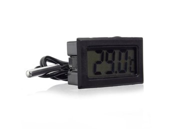 Aquarium LCD Digital Thermometer Fish Tank Water Digital ...