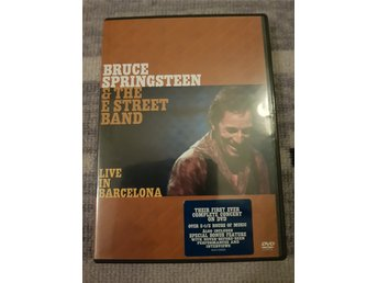 Bruce Springsteen Live in Barcelona 2 DVD 2002