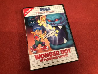 Wonder Boy In Monster World - Sega Master System