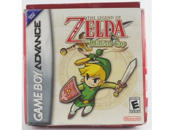 The Legend Of Zelda: The Minish Cap - Game Boy Advance