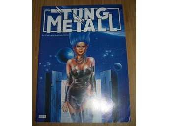 TUNG METALL NR 3 1987 Fint skick