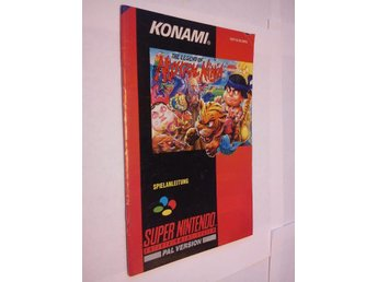 SNES: Manualer: The Legend of Mystical Ninja (Manual - Tysk)