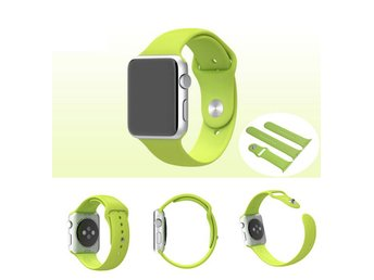 Silicone Band Apple Watch 38mm grön