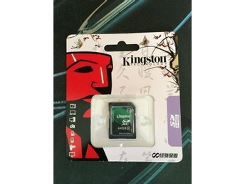 Nytt Kingston Minneskort 64 GB Class 10 SDXC SDHC 64GB