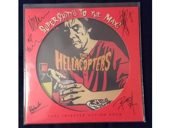 The Hellacopters - Supershitty To The Max (Signerad av originaluppsättningen)