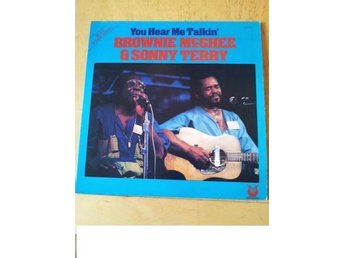 "Brownie MCGhee and Sonny Terry  ""You hear me talkin"" Lp"