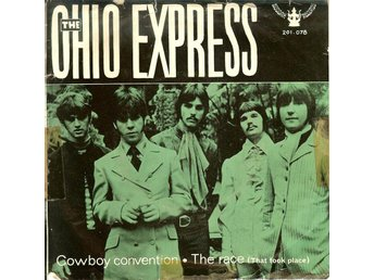Ohio Express  7´ Cowboy convention / The race  1969  VG++