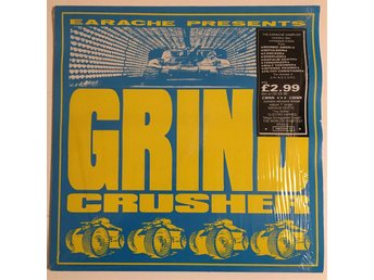 Grindcrusher - The Earache Sampler / MOSH 12 + Limited Edition 7MOSH 12 / RARE
