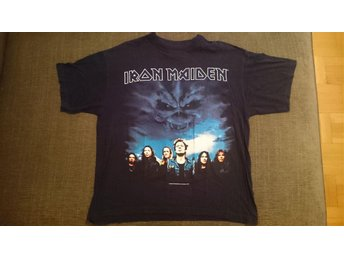 Iron Maiden - Brave New World turné T-shirt 2000 storlek L