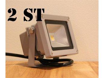 10w LED strålkastare 2ST NYA - Grängesberg - 10w LED strålkastare 2ST NYA - Grängesberg