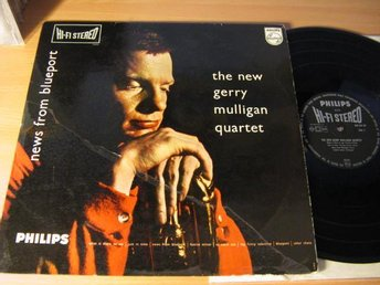 New Gerry Mulligan Quartet. News from Blueport. 1959 Stereo Hi-fi Philips.