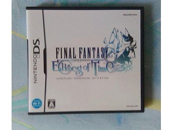 Final Fantasy Crystal Chronicles Echoes of time japansk tv-spel Nintendo DS