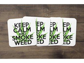 Keep Calm And Smoke Weed Coasters 4 Pack Underlägg Underlag - Kuala Lumpur - Keep Calm And Smoke Weed Coasters 4 Pack Underlägg Underlag - Kuala Lumpur