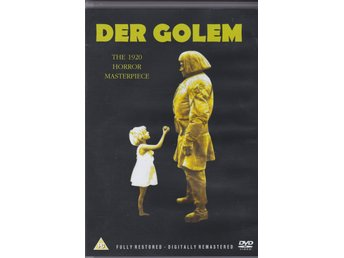 Der Golem - The Golem - Paul Wegener Carl Boese Albert Steinrück - Eureka Video