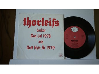 Thorleifs - Önskar God Jul 1978 & Gott Nytt År 1979    7""