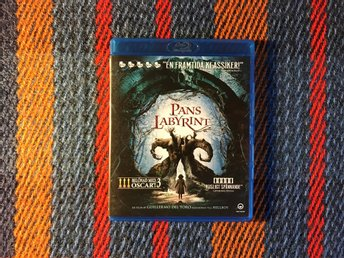 PANS LABYRINT Blu-ray 2006 Guillermo del Toro (Hellboy) Labyrinth