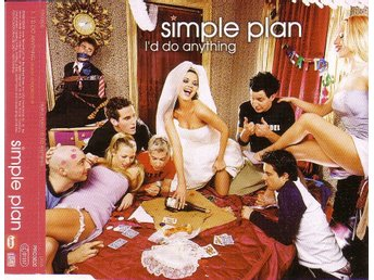 Simple Plan-I'd do anything / Promo CD-singel
