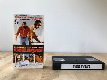 VHS Dansk utgåva av God forgives but I don't - Bud Spencer Terence Hill 1968