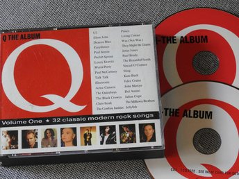 Q The Album - Volume 1 CD (dubbel) U2,Elton John,Paul Simon,Chris Isaak,Prince