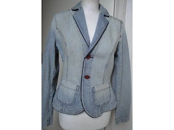 Stilig randig jeans kort kavaj från Mexx Jeans e5100a66daf88