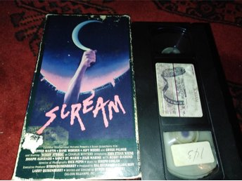 Scream (1981) Usa Rental Hyr Slasher