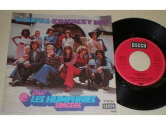 Les Humphries Singers 45/PS Carnival 1973 M-