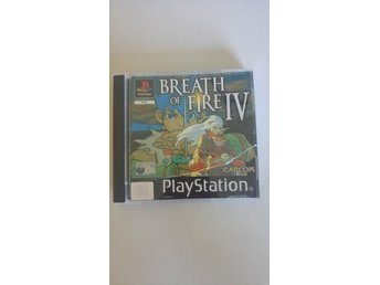 Breath of Fire 4 PS One