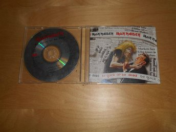 IRON MAIDEN - CDsingel - Be quick or de dead