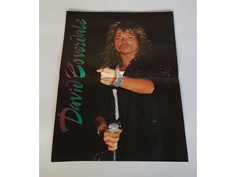 David Coverdale 1987  poster