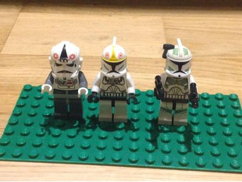Lego star wars 3 st clone troopers