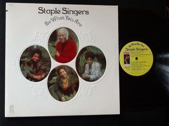 STAPLE SINGERS (EX)  – Be What You Are / Vinyl LP Stax Records US 1973