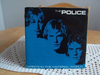 The Police Spirits in the material world Postercover