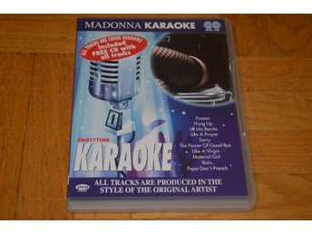 Madonna Karaoke - DVD + CD 2-Disc