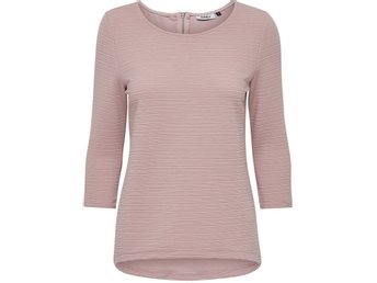 ONLY detailed 3/4 sleeve top SVART - Bromma - ONLY detailed 3/4 sleeve top SVART - Bromma