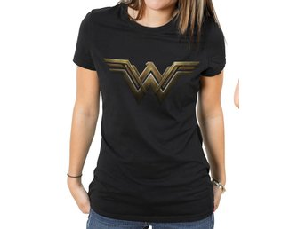WONDER WOMAN MOVIE - MAIN LOGO T-Shirt - Extra-Large