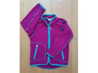 PoP Polarn Fleecejacka Stl 104 Lila/rosa/cerise fleece