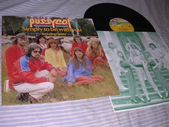 Pussycat - Simply To Be With You (LP) incl Daddy EX/EX