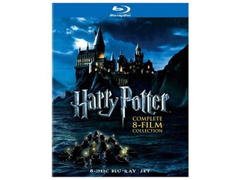 Harry Potter: Komplett 8-films samling - Blu-ray