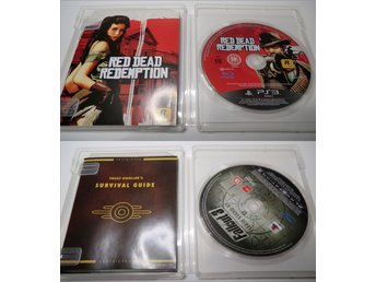 6st PS3 Spel (Red Dead Redemption, Fallout 3, Bioshock, Killzone 2, m.m)