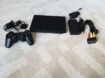PLAYSTATION 2 ENHET SLIM BEG