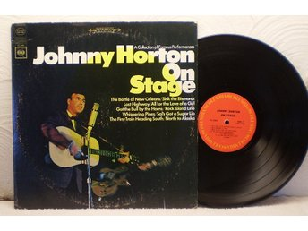 JOHNNY HORTON - ON STAGE