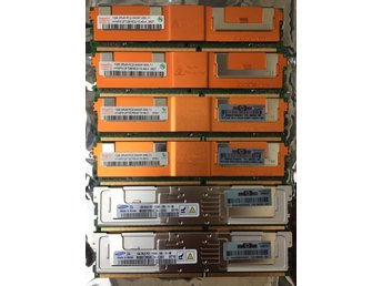 RAMMINNE 6st 1gb  PC25300F-555 till server
