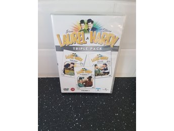 Dvd: Laurel & Hardy - helan och halvan - vol 2 - bohemian girl - saps at sea m.m