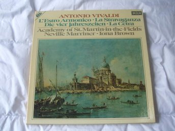 Antonio Vivaldi Neville Mariner Iona Brown 8LP DECCA - åmotfors - Antonio Vivaldi Neville Mariner Iona Brown 8LP DECCA - åmotfors
