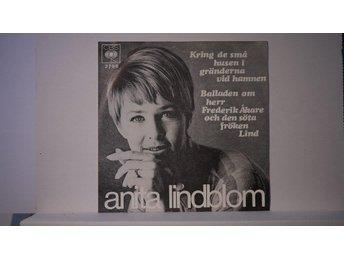 """Anita Lindblom - Kring De Små Husen I Gränderna ... 7"""" - Holmsund - Anita Lindblom - Kring De Små Husen I Gränderna ... 7"""" - Holmsund"""