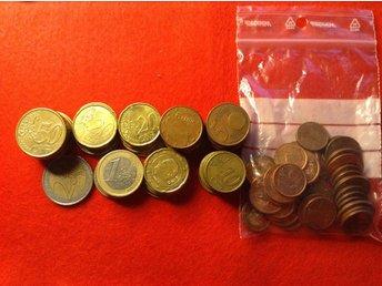 14.30 euro påse med 1 & 2 cent - örebro - 14.30 euro påse med 1 & 2 cent - örebro