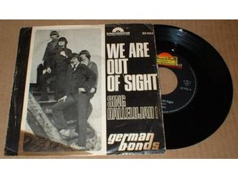 "GERMAN BONDS WE ARE OUT OF SIGHT 7"" Vinyl - älmhult - GERMAN BONDS WE ARE OUT OF SIGHT 7"" Vinyl - älmhult"