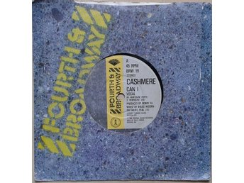 "Cashmere title* Can I* Synth-pop 7"" UK"