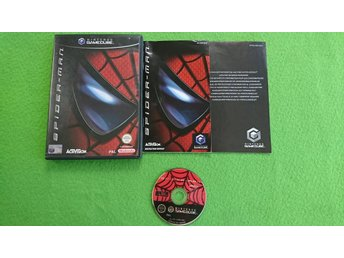 Spider-man KOMPLETT Gamecube Nintendo Game Cube